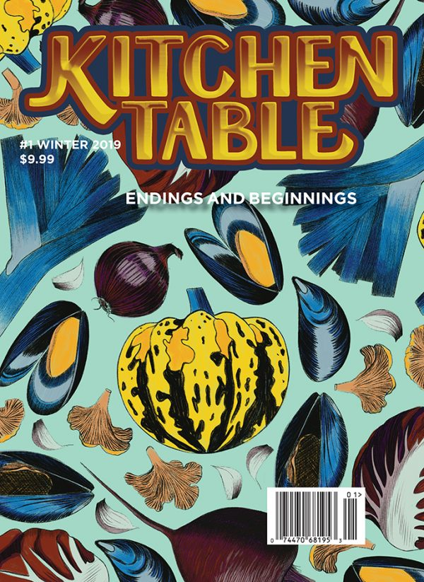 Kitchen Table Magazine issue #1 cover