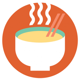 Kitchen Table Magazine - ramen bowl logo