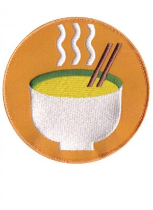 Kitchen Table Magazine - custom ramen bowl patch