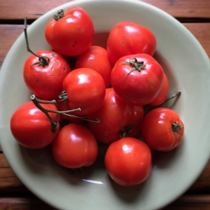 Kitchen Table Magazine cherry tomatoes